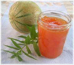 Confiture de melon à la verveine citronnée