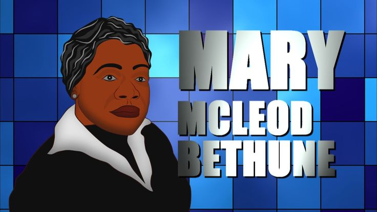 Black History Month Tribute to Mary Mcleod Bethune. Learn about Mary Mcl...