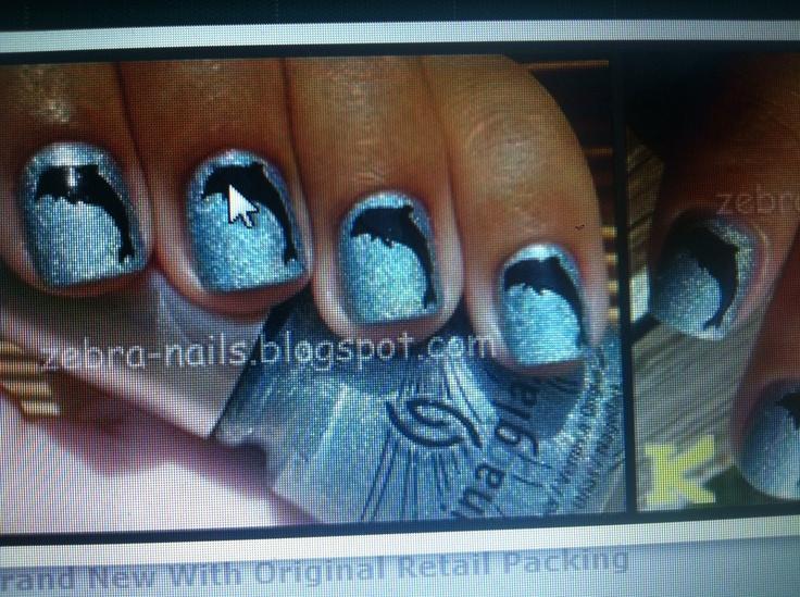 Mejores 21 imágenes de Dolphin nails en Pinterest | Uñas de delfín ...