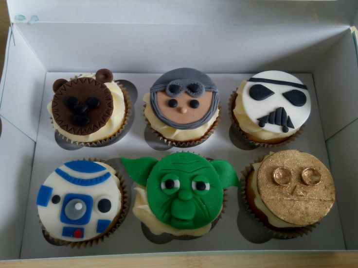 Star Wars se tomó a Cupcakes Dulce Limón. Haz tus pedidos y Siguenos en www.facebook.com/cdulcelimon
