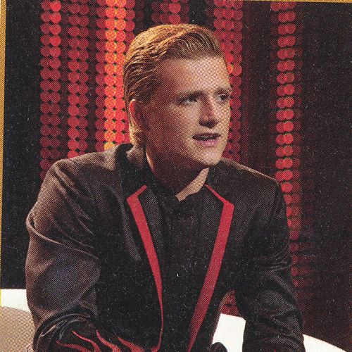 The Hunger Games. Peeta Mellark at the pre-games interview.
