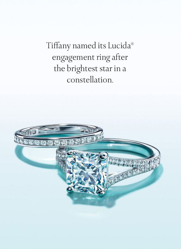 It took decades to develop our iconic Lucida®  engagement ring. The diamond's graceful step-cut crown is mixed with a brilliant-cut pavilion.