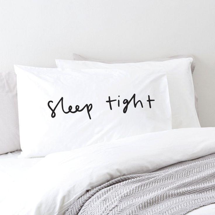 Sleep Tight Pillow Case
