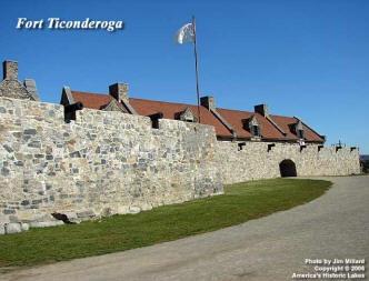 Fort Ticonderoga  upstate New York