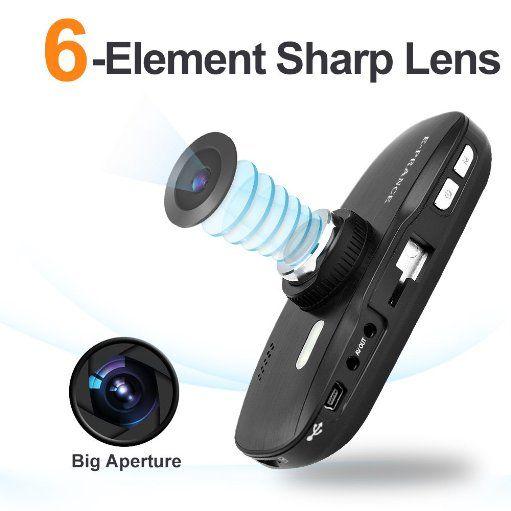 E-PRANCE® New G1W Novatek 2.7″ Car Dashcamera Driving Recorder + 1920*1080P 30FPS + G-sensor + Car License Plate + MOV + 140 Degree Wide Angle Lens + Night Vision + H.264 Color Black - My Blog