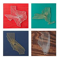 unusual, great quality and something for everybody's tastes: Crafts Ideas, States Art, Gift Ideas, Heart Shapes, Heart String, String Wall Art, String Art, Diy, String States