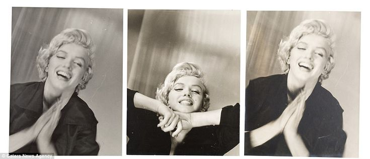 Rare pictures of Marilyn Monroe go up for sale   Daily Mail Online