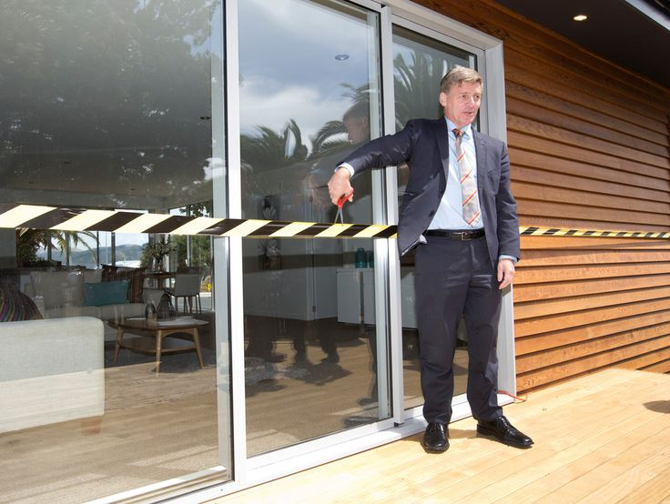 A housing factory that pre-builds three-bedroom houses for $190,000 was opened by Finance Minister Bill English in Wellington yesterday.The company's homes are built in modules so they can be added together to make any size house.Daniel Haarhoff, 28, and Shannon Musaphia, 24, have just bought a pre-built four-bedroom home for $195,000