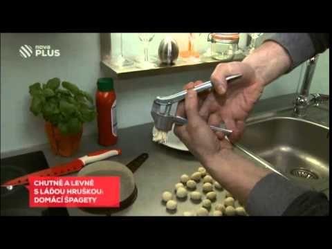 LEVNĚ A CHUTNĚ: Špagety od Ládi Hrušky uvaříte za dvě koruny! - YouTube