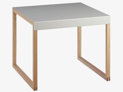 KILO GREYS Metal Grey metal side table - HabitatUK