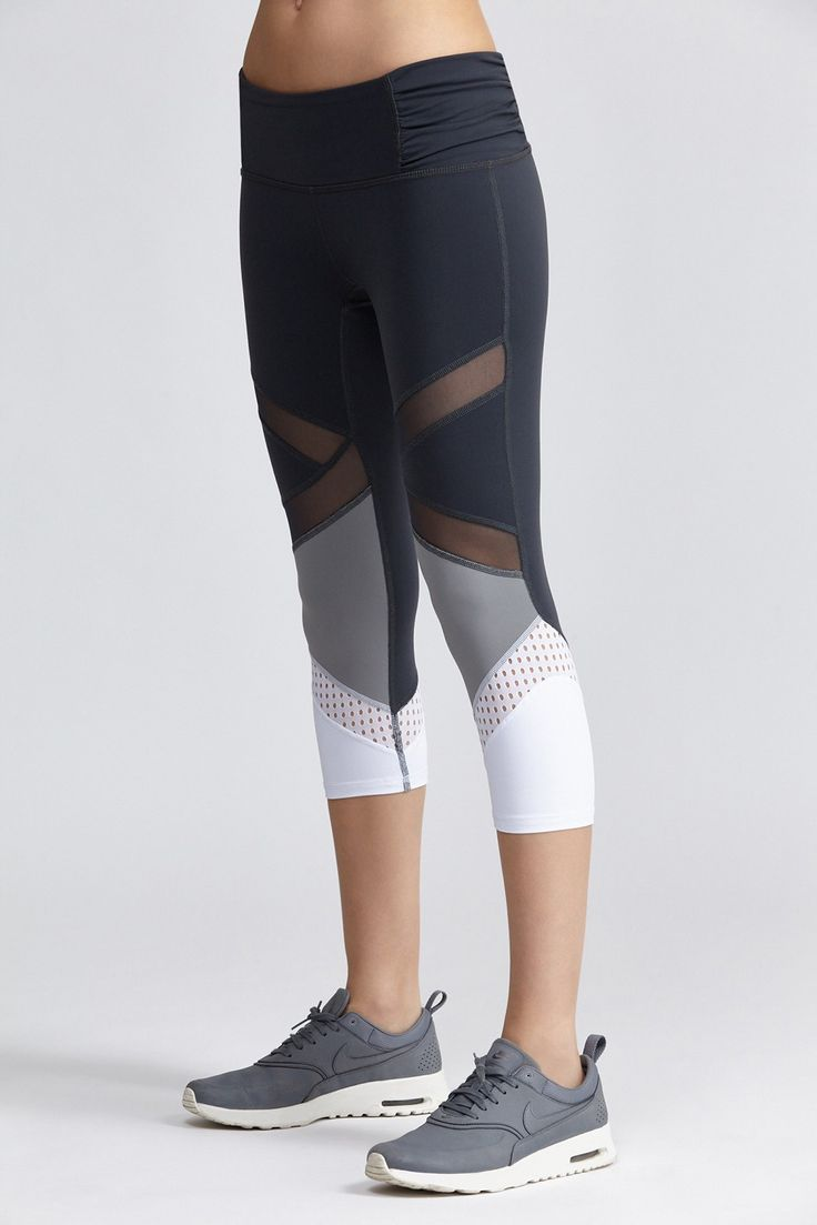 Sienna Capri Body Language Sportswear Clothing, Shoes & Jewelry : Women : Clothing : Active : gym http://amzn.to/2lL2x3Ehttps://www.bandier.com/sienna-capri?___store=default