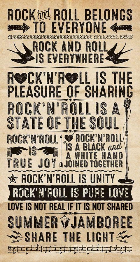 Rock'n roll belong to everyone
