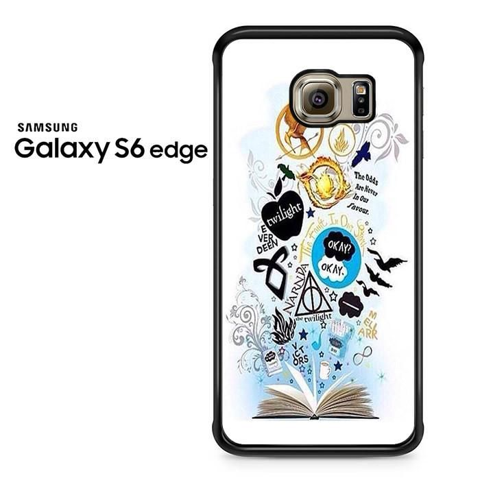Throne Of Glass Percy Jackson And Harry Potter Symbol Samsung Galaxy S6 Edge Case