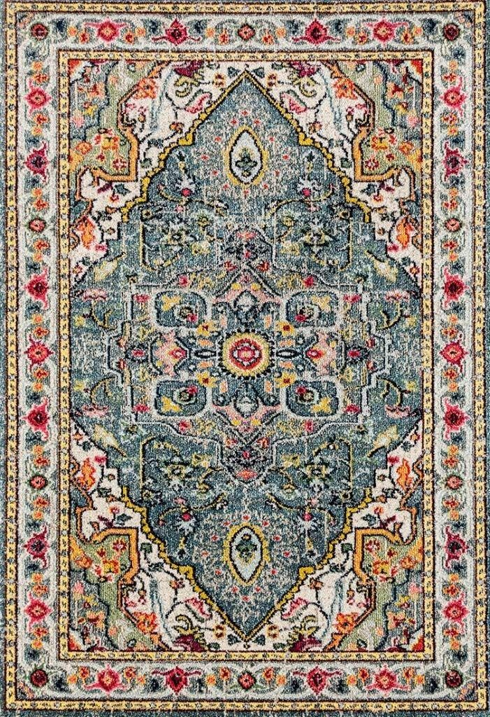 Amazon Com 514 Blue Bohemian 8 X 10 Area Rug Carpet Home Kitchen Rugs On Carpet Persian Area Rugs Area Rugs