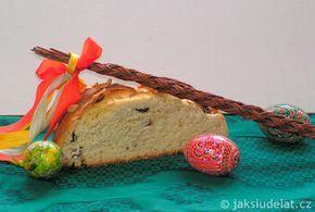 Jednoduchý velikonoční mazanec