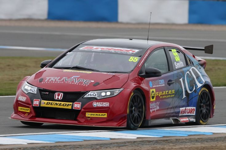 Jeff Smith (GBR) Eurotech Honda Civic Type R