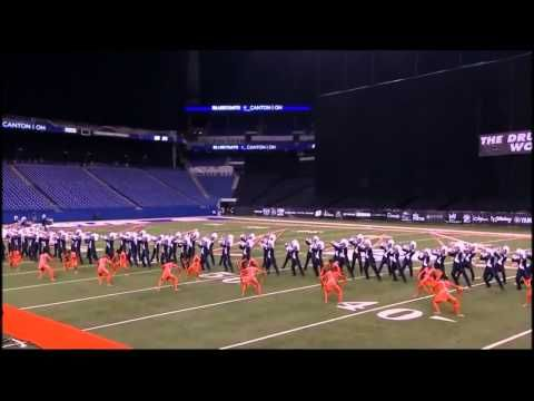 Hymn of Acxiom - Bluecoats 2014 - YouTube