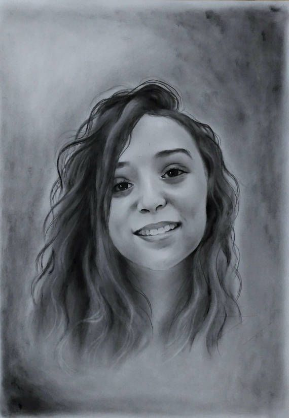 Custom Gift Original portrait from your photo Oil on Paper