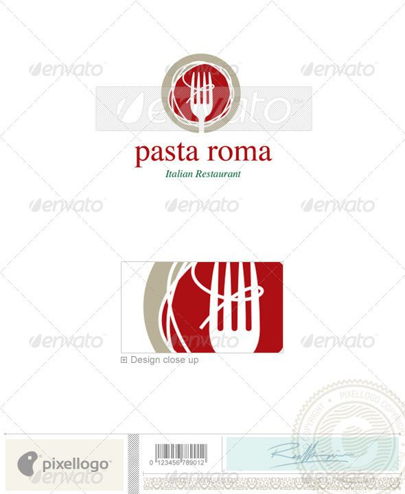 37 best logos office shops local business images on - Food design roma ...
