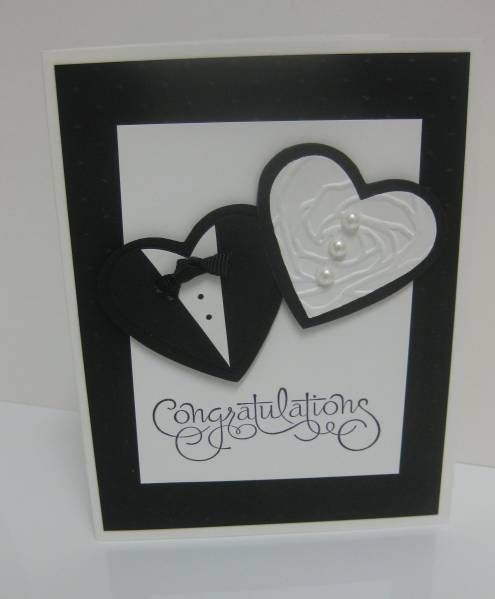 24 best Cards Wedding images on Pinterest Card wedding Handmade