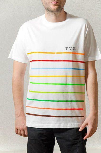 Cotton White T-Shirt Design : Mariner