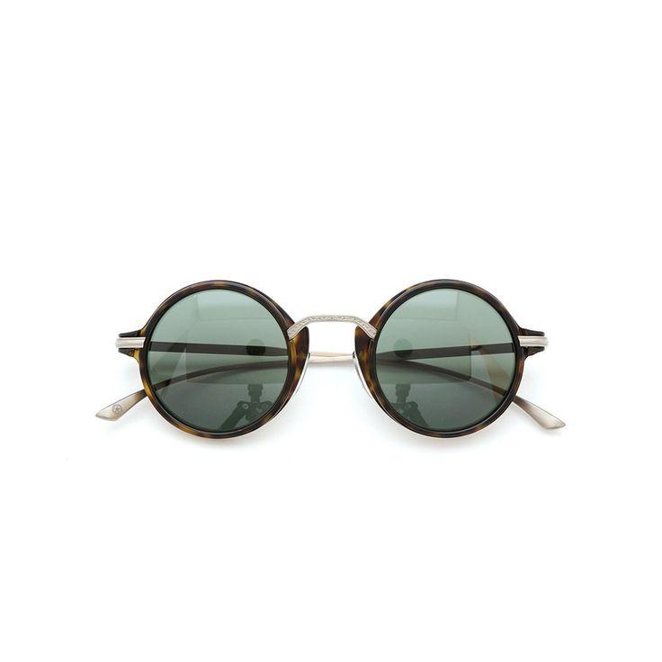 MASUNAGA designed by Kenzo Takada Mokko |Sunglasses| #23 DEMI 43size 100-Limited-edition | PonMegane  #kenzotakada #sunglass #masunaga #ponmegane