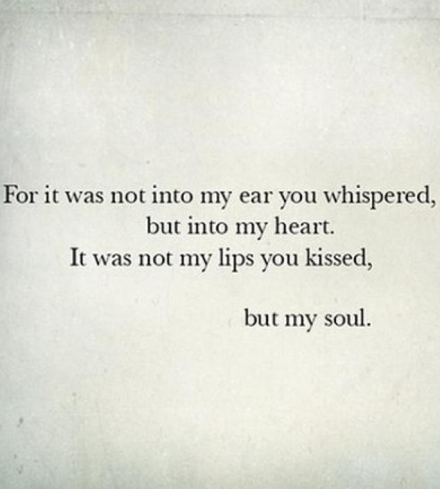 Heart And Soul Quotes And Sayings: You Touch My Heart And Soul