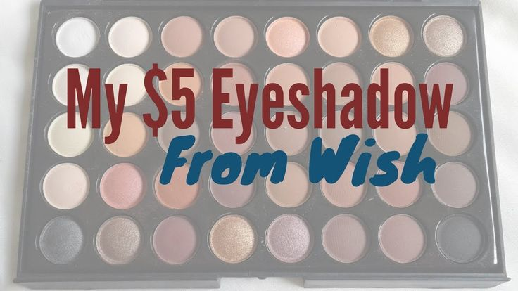 I just received my eyeshadow from Wish and I just LOVE it! It cost me only $5 for a palette of 40 colours!   Check out my blog post and grab your promo code to get up to 50% off your first order from Wish!  #myonlineshopping #eyeshadow #$5eyeshadow #wishapp #wishshopping