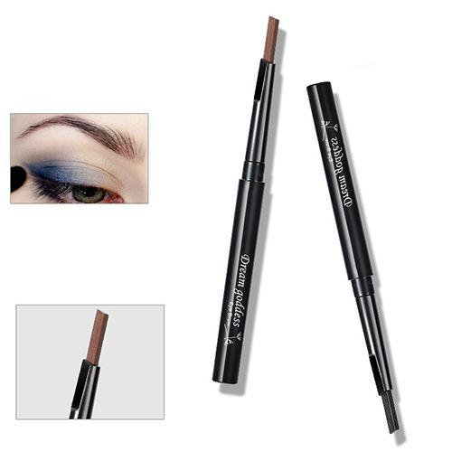 1 Pc Rotatable à prova d ' água delineador sobrancelha Eye Brow Pencil maquiagem caneta cosméticos alishoppbrasil