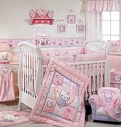 Looking For Adorable Theme For Your Baby Nursery? If You Are Going To  Decorate A Nursery Room For Baby Girl, Why Not Check Out Hello Kitty Theme.