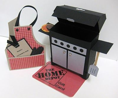 Great for the griller in your family/life! Adding this one to list of tutorials I want to purchase! Father's Day Grill Gift Tutorial :: Confessions of a Stamping Addict