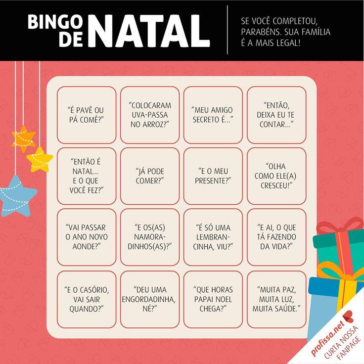 Bingo de Natal www.profissa.net