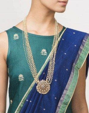 Necklace - Silver anusuya ns 6259 choker necklace online shopping | Fabindia