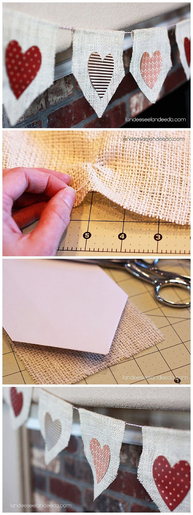 25 best ideas about No sew bunting