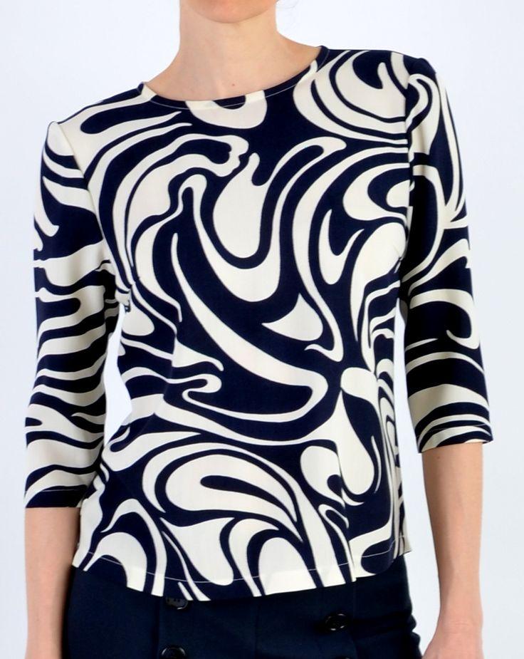 Mie bluse 1199. Designertøj til kvinder forår og sommer 2015 | Mette Bredahl Design