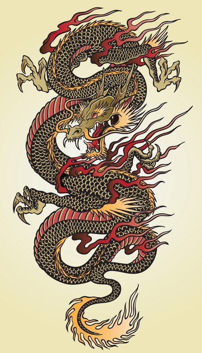 25 best ideas about asian dragon tattoo on pinterest for Back mural tattoo designs