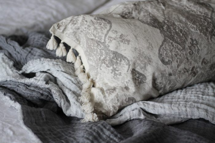 Photo by Sussi Norberg Fira Helsingborg cushion & Le Monde Sauvage blanket