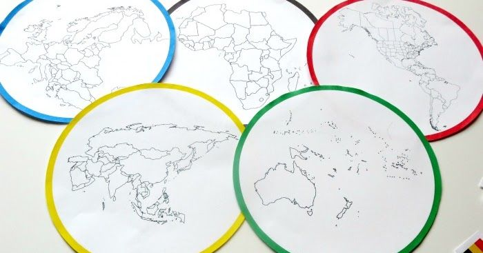 Planet Smarty Pants: Continents and Countries Olympic Sort