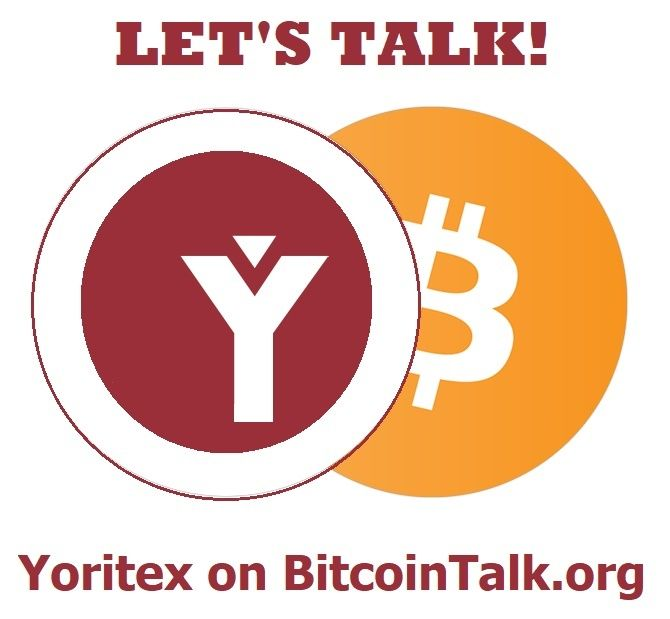 Check out the Official #Yoritex #Bitcointalk page here ➡️  ENG: https://bitcointalk.org/index.php?topic=2471605.0 RUS: https://bitcointalk.org/index.php?topic=2770861.0 #YoritexICO #news #cryptocurrency #TokenSale #crowdfunding #bitcoin #ethereum #SimcoePay