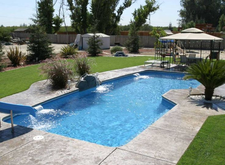 Top 25 best fiberglass inground pools ideas on pinterest - How to make a cheap swimming pool ...