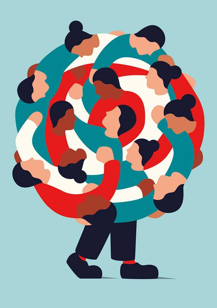 Francesco Ciccolellaé um ilustrador austríaco com raízes italianas, como ele mesmo se apresenta. O artista consegue revelar mensagens satíricas com suas criações suaves e coloridas. Francesco expl…