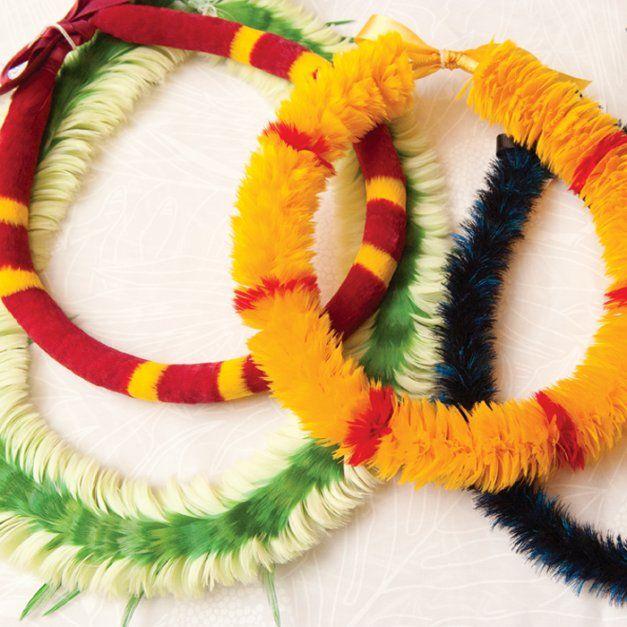 The Feather Lei - Maui Magazine - November-December 2009 - Maui, Hawaii