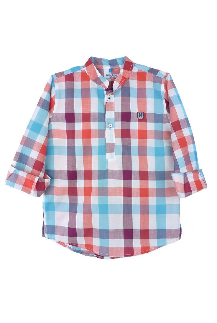 Nachete camisa de cuadros Aruba