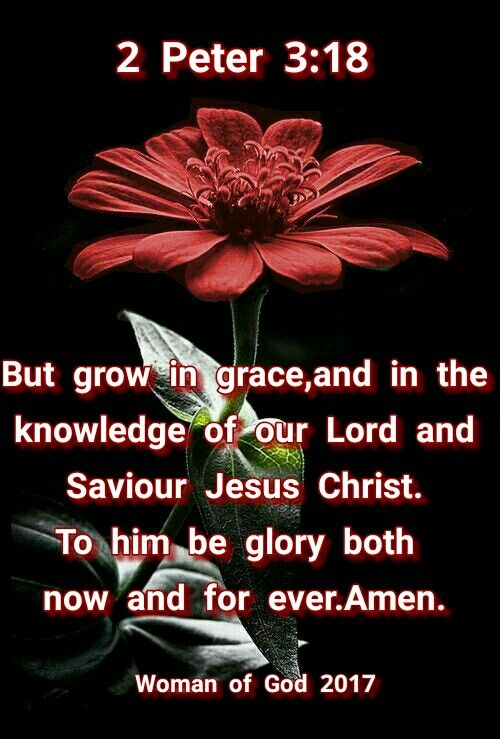 2 Peter 3:18
