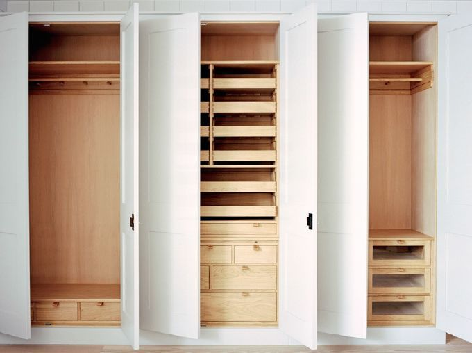 Bespoke handmade bedroom cupboards bedroom closet - Small storage cabinet for bedroom ...