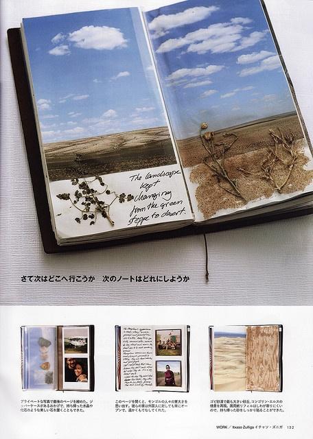 Midori Travelers Notebook. STUNNING!