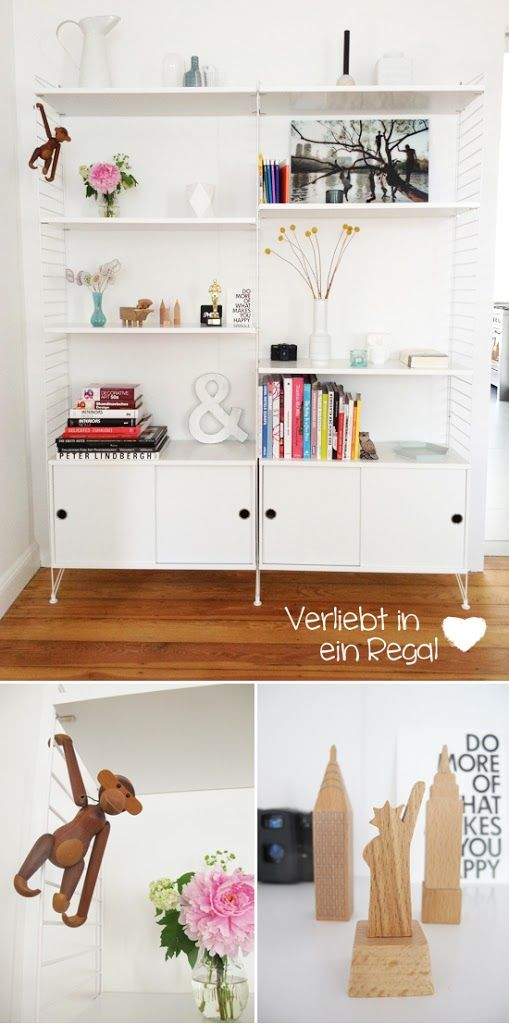 die besten 25 string regal ideen auf pinterest apartment inspiration regal weiss und. Black Bedroom Furniture Sets. Home Design Ideas