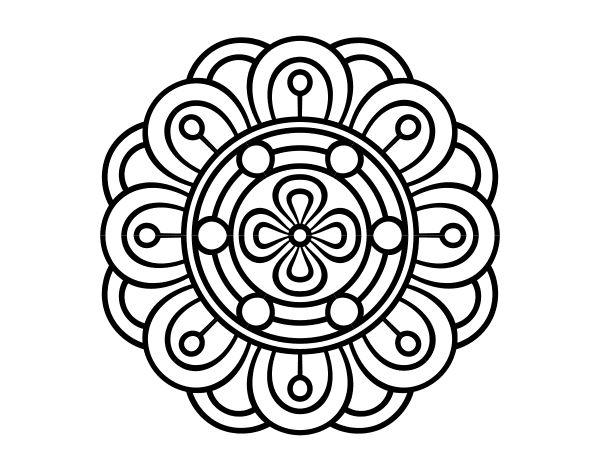 Dibujo De Mandala 11 Para Pintar Y Colorear En Línea: 59 Best Dibujos De Mandalas Para Colorear Images On