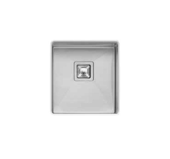 Professional Series Single Square Bowl Undermount