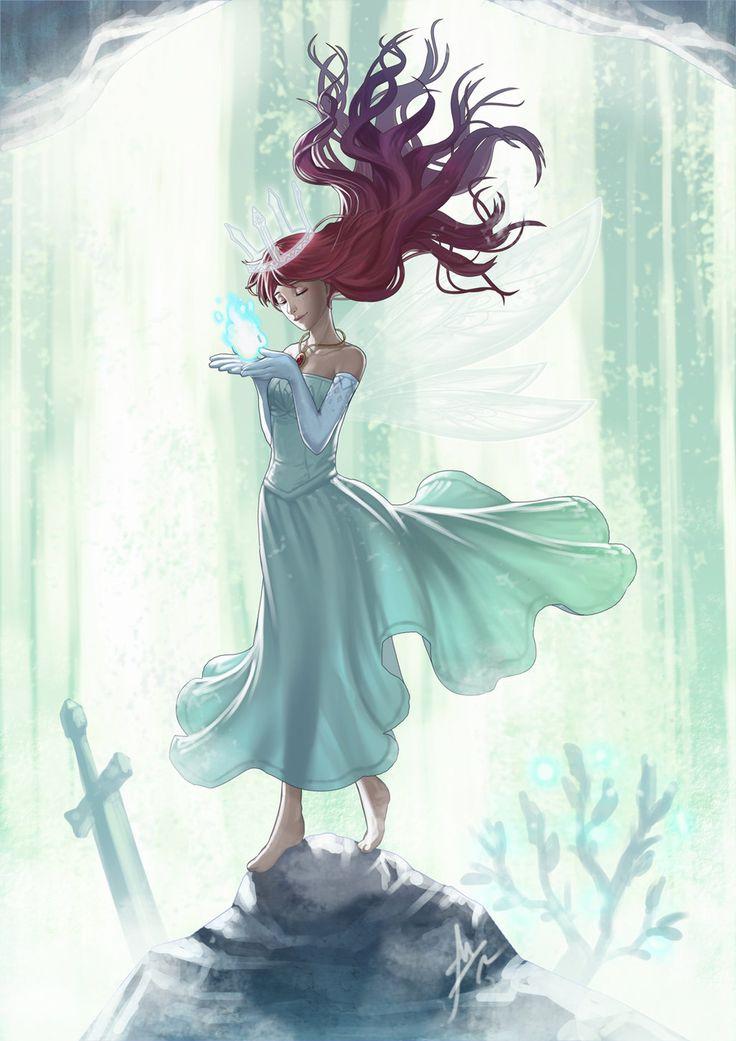 Anime Queen Of Light 24 best Aurora (Child ...